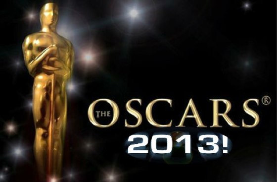 The 2013 Academy Awards are tonight, February 24, 2013