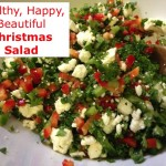 Happy Healthy Christmas Salad!