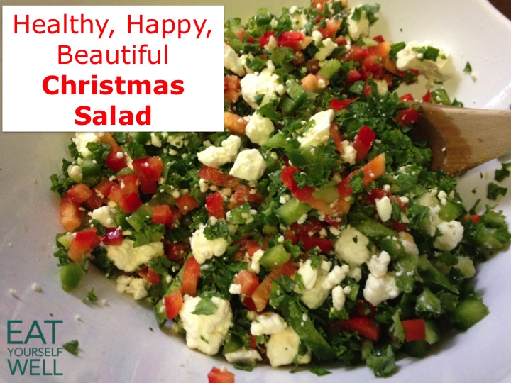 Happy, Healthy, Delicious Christmas Salad