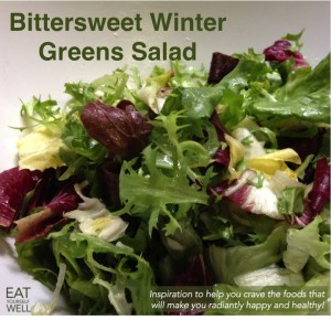 Bittersweet Winter Greens Salad