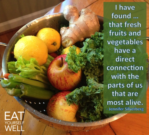 Fresh Fruits and Veggies are Alive