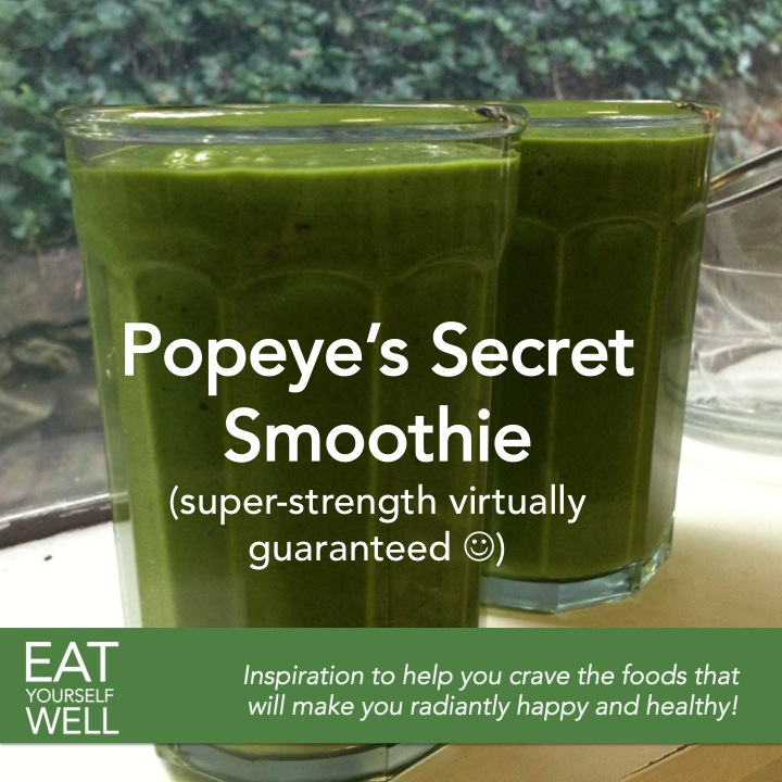 Delicious Spinach Smoothie - Eat Yourself Well