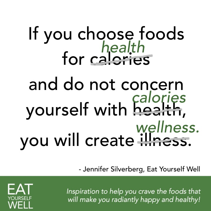 Choose foods for health - EatYourselfWell