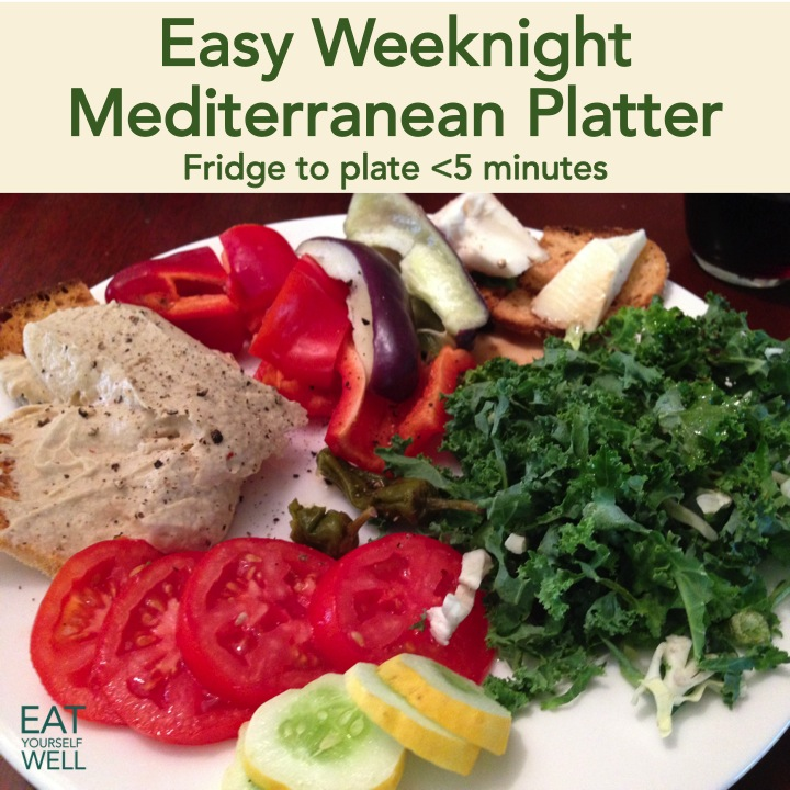 Weeknight Mediterranean Platter