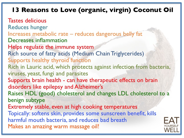 13 Reasons to Love Coconut Oil