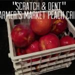 Farmer's Market Peach Crisp