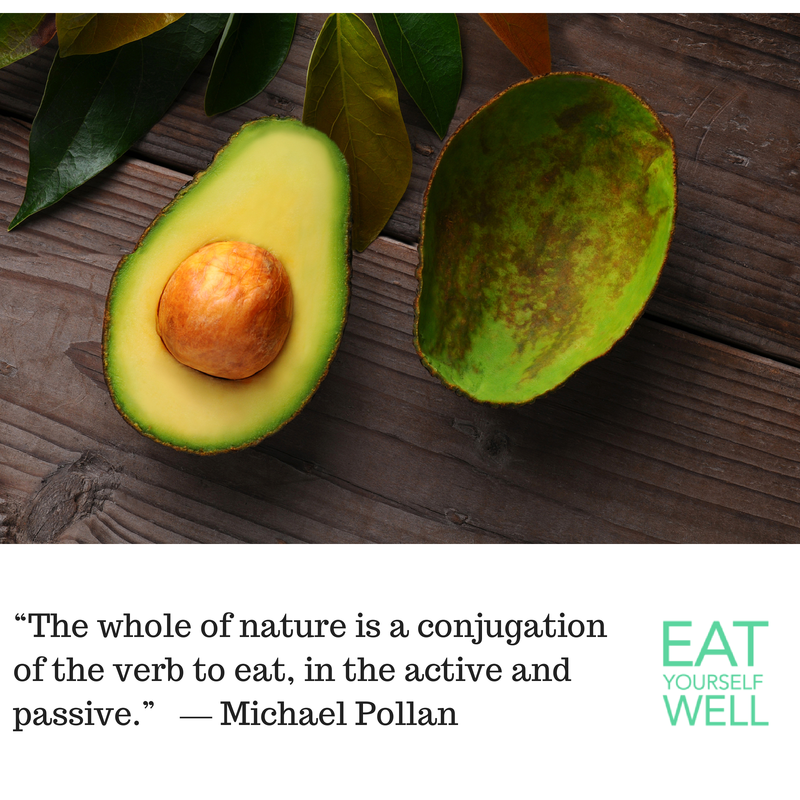Michael Pollan Quote - Eat Yourself Well