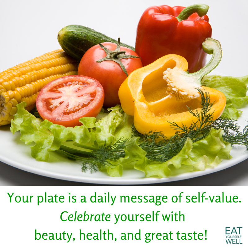 Celebrate Yourself - Eat Yourself Well