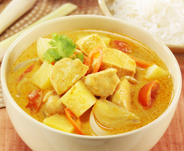 Kilospire Yellow Curry Stir-Fry