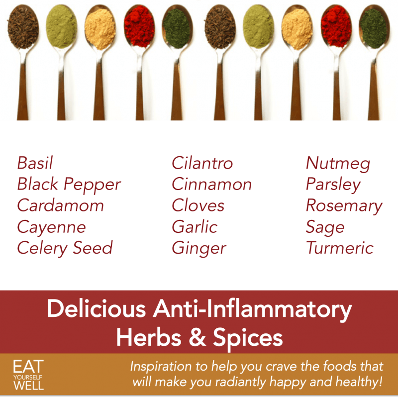 The Most Delicious Anti-Inflammatory Herbs and Spices