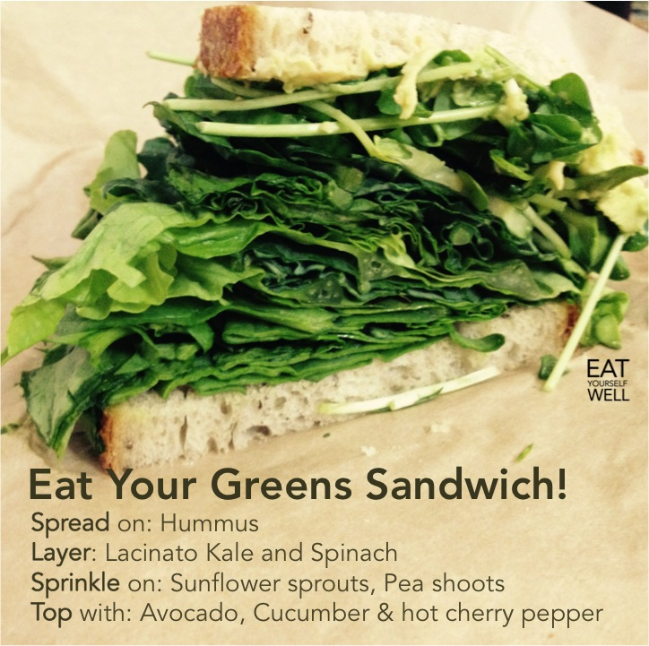 Eat Your Greens Sandwich