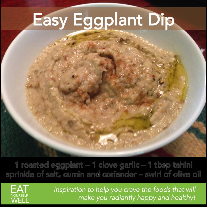 Easy Eggplant Dip