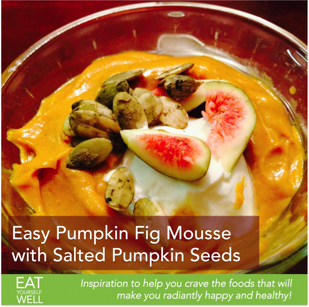 Pumpkin Fig Mousse