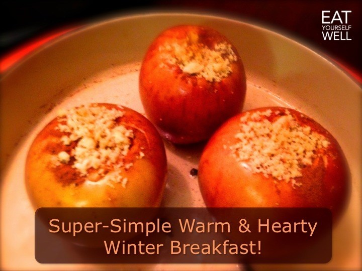 Winter Breakfast Apples