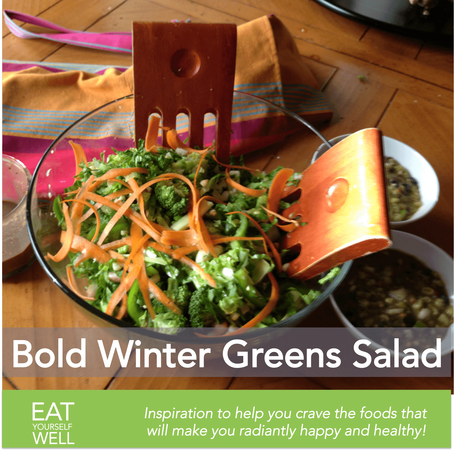 Bold Winter Greens Salad