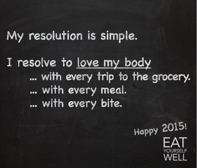 Healthy Resolution 2015 - Jennifer Silverberg