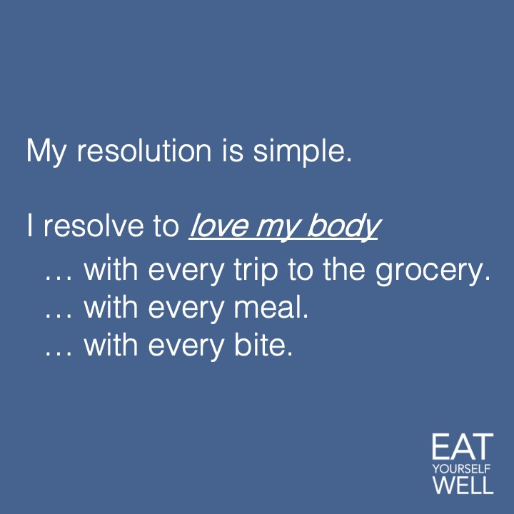 Healthy Resolution!