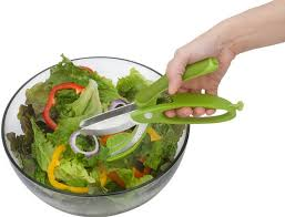 Toss and Chop Salad Scissors Image