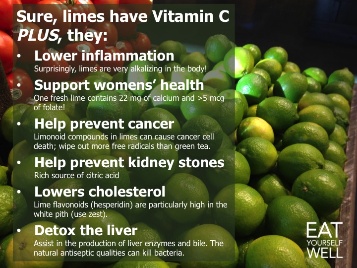 Love Limes?  Here's Why!