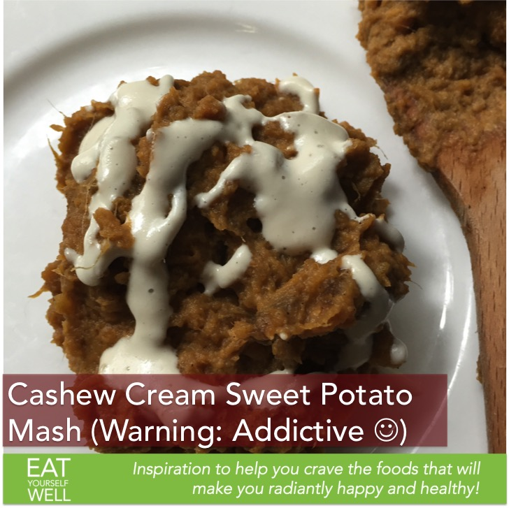 Cashew Cream Sweet Potato Mash