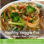 Health-Preserving Quick Veggie Noodle Soup