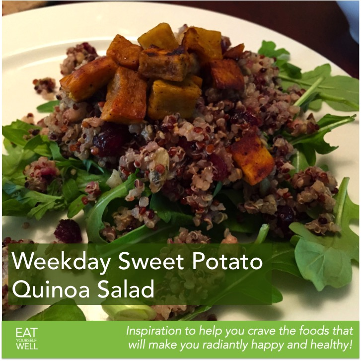 Weekday Sweet Potato Quinoa Salad