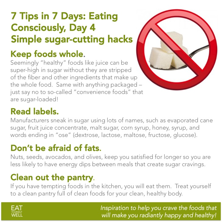 7Days, Day 4: Eating Consciously