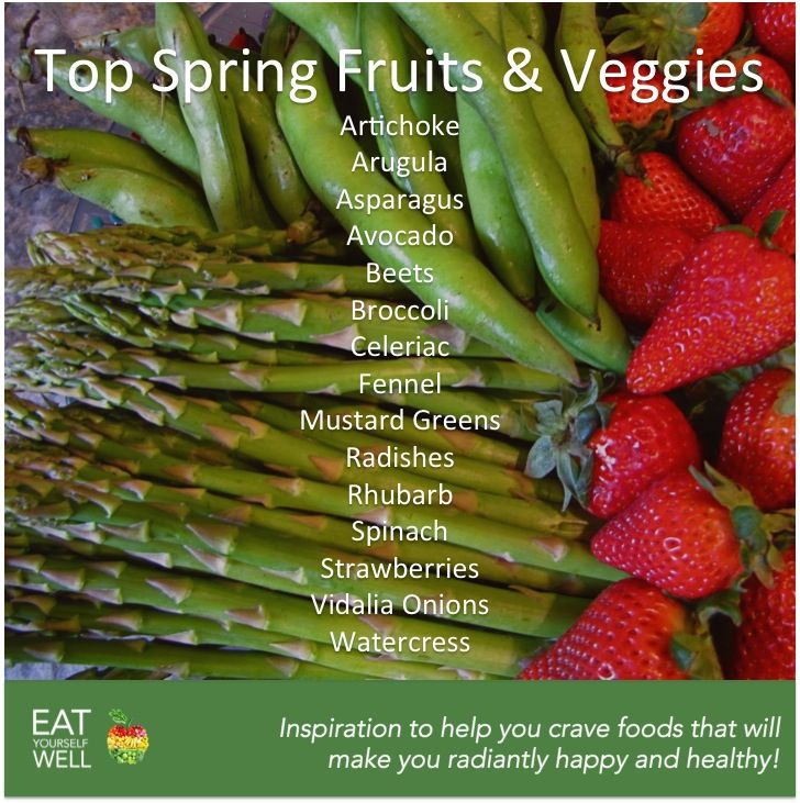 Top Spring Fruits and Veggies