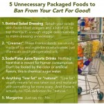 "Don't let these packaged ""foods"" in your cart!"