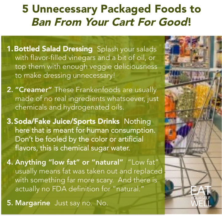 Unnecessary Packaged Foods