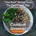 We're giving away two cookbooks – The Plantpower Way, by Rich Roll and Julie Piatt!