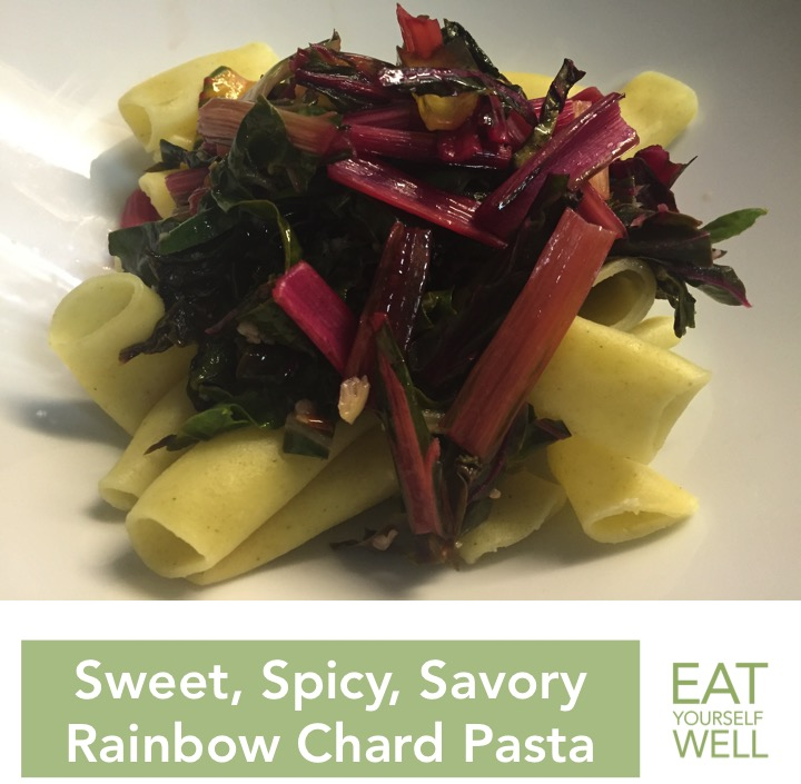 RainbowChardPasta