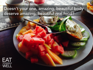 You deserve amazing food!