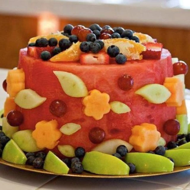 Healthy Birthday Cake