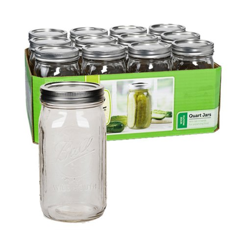 Ball Wide-Mouth Mason Jars Image