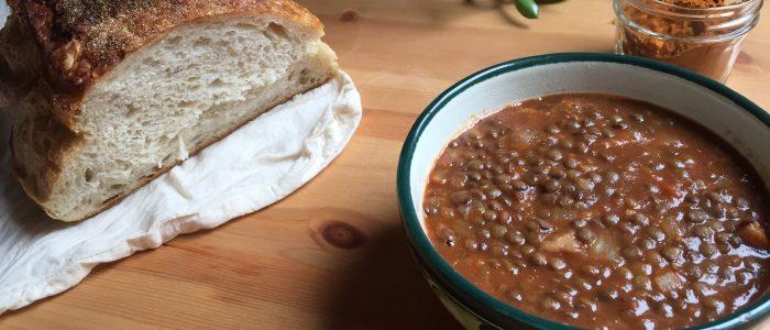 Warming Lentil Soup
