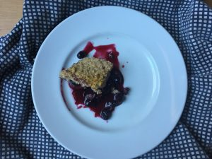 Eat Yourself Well Berry Crumble Chaos