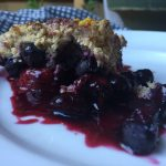 """Embrace the Chaos"" Berry Crumble"