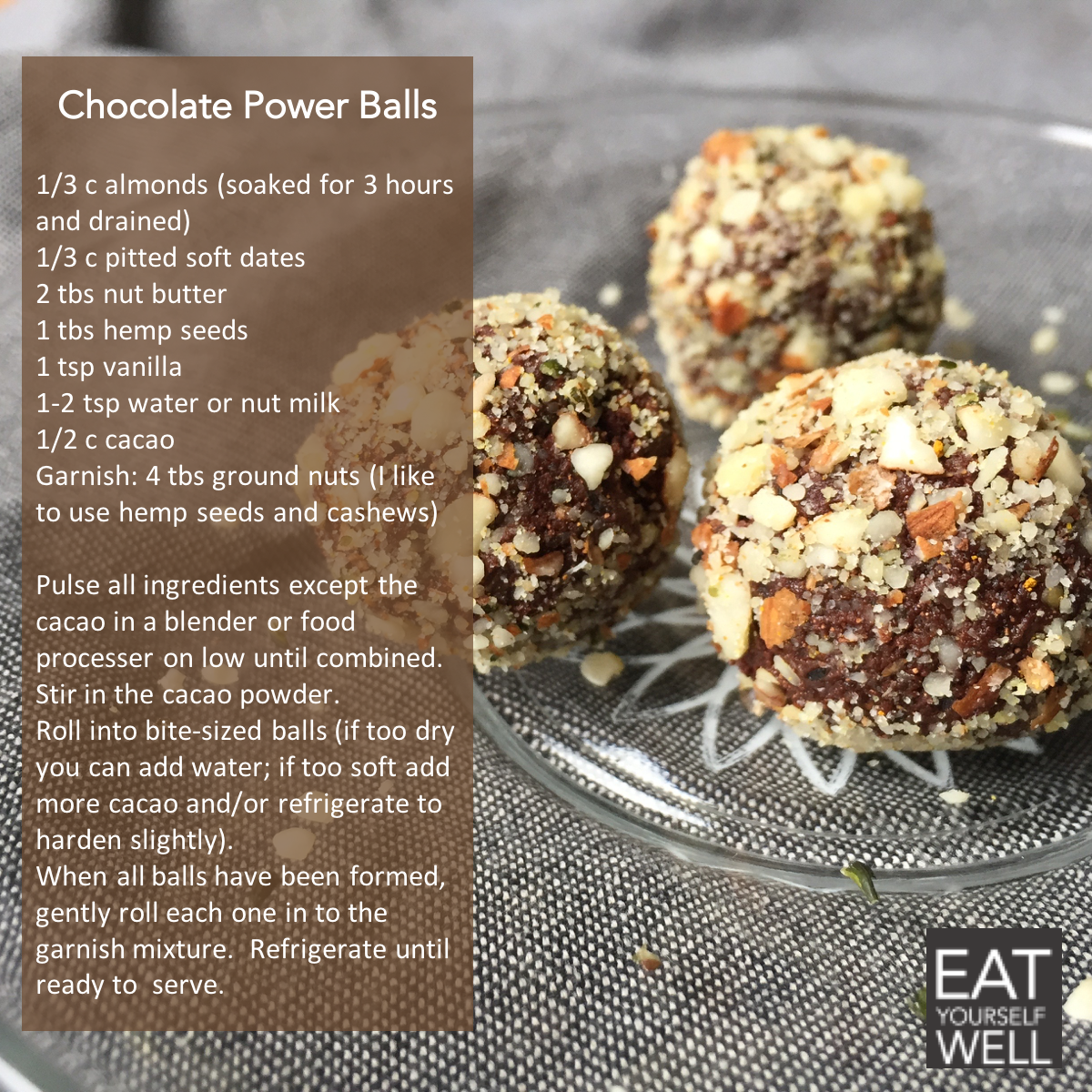 Chocolate Power Balls Recipe